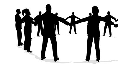 people-circle-holding-hands-silhouette_494469